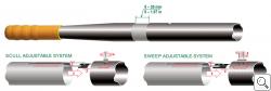 BRAČA-SPORT® Adjustable Shaft System